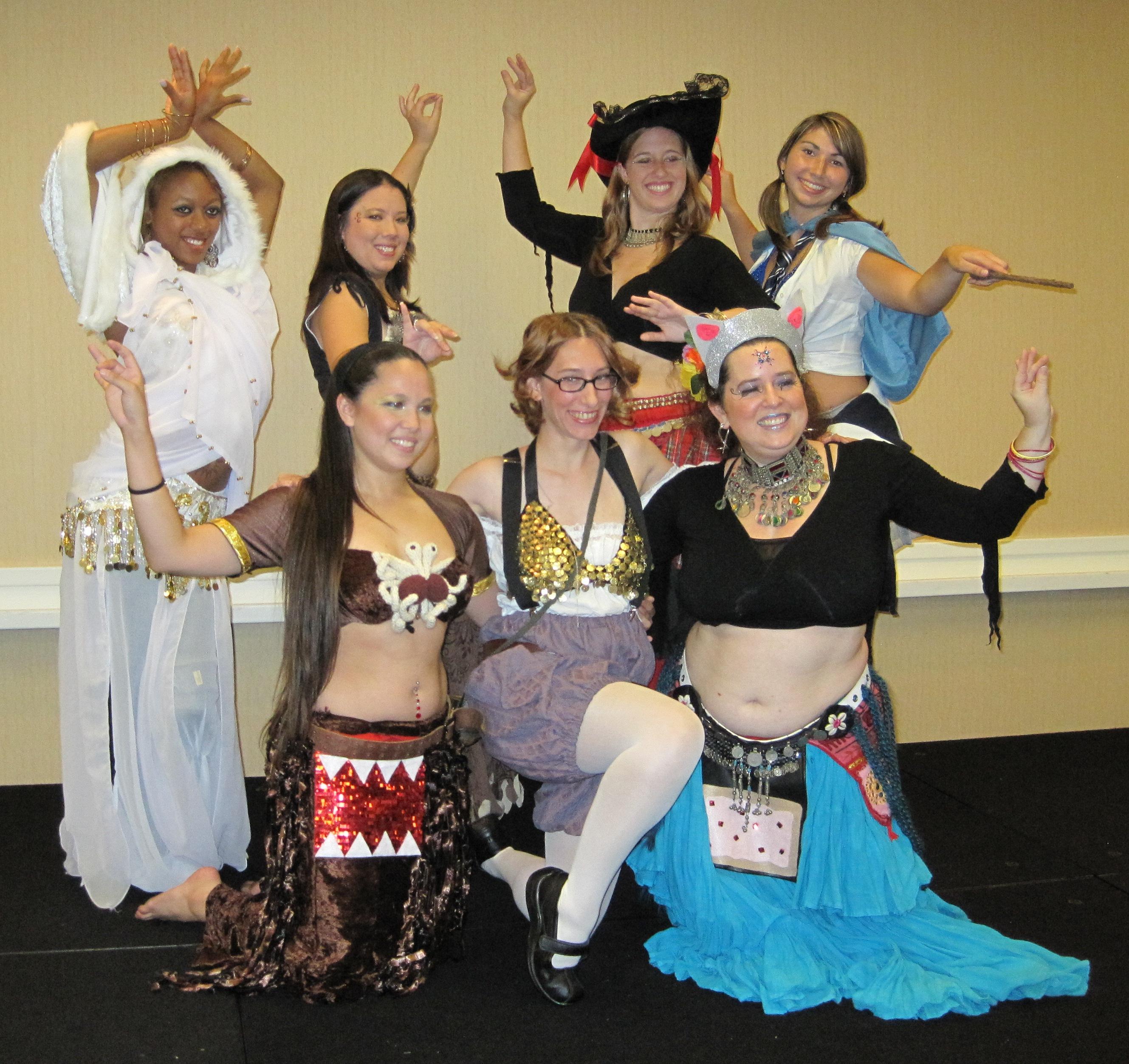 Domo Ayla 8 Bit Belly Dancer Intervention 2011 Dancers Costume